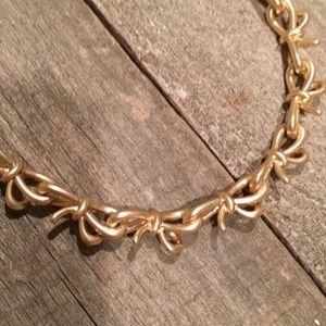 """Banana Republic Jewelry - Banana republic """"bow"""" necklace"""